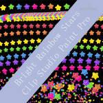 Bright Rainbow Stars (PTU) by HaruRyomaru86