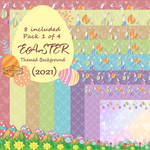Easter Background 2021 Pack 1
