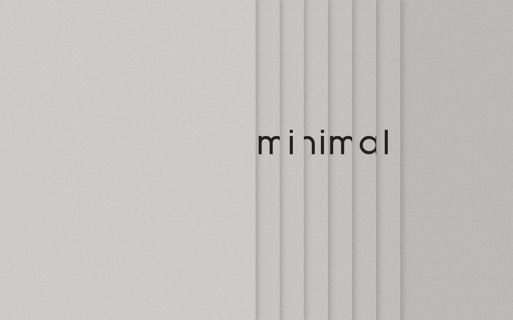 Minimal wallpaper by coroners on deviantart for Minimalist design definition