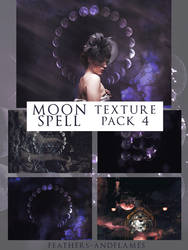 Texture Pack 4 - Moon Spell by feathers-andflames