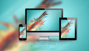 Abstract storm