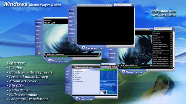 Windows Media Player 8  - Redux (V2.0)