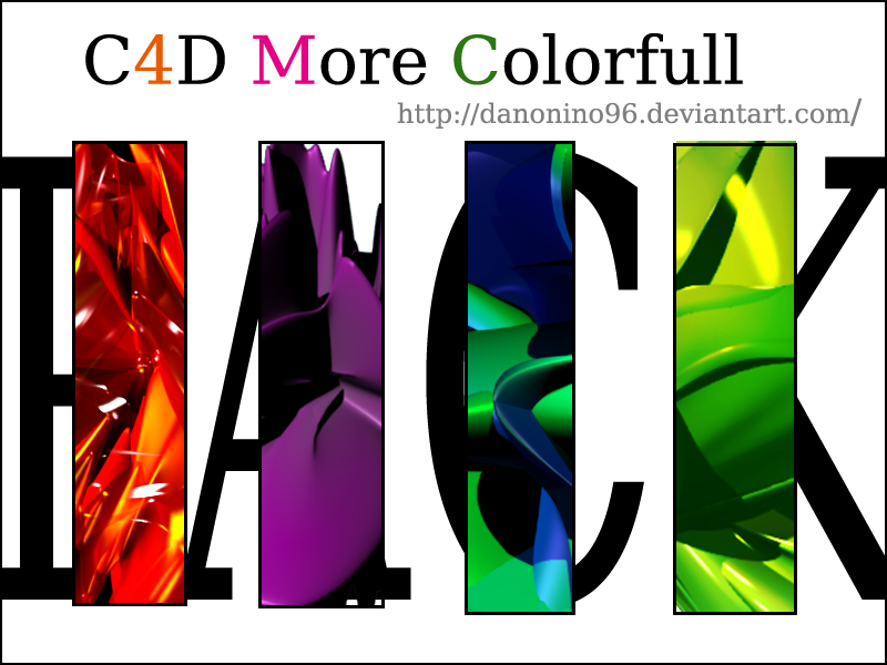 C4D -More Colorfull C4D_Pack_by_danonino96