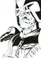 Judge Dredd by Simon Fraser for Fanfaire NYC