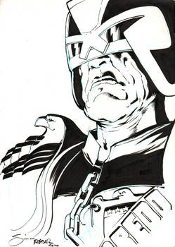 Judge Dredd by Simon Fraser for Fanfaire NYC