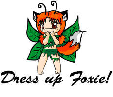 Flash: Foxie Dressup Game by chise8340