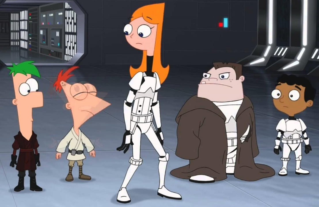 Sithvamp Reviews Phineas And Ferb Star Wars By