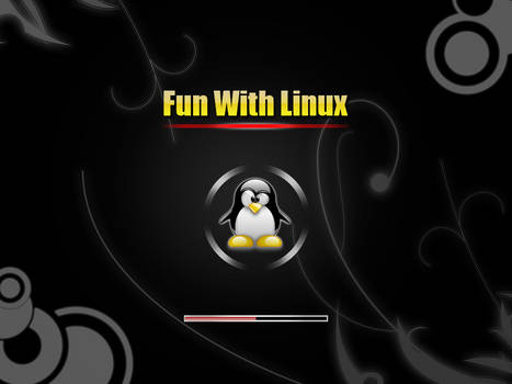 Fun_With_Linux2 plymouth theme