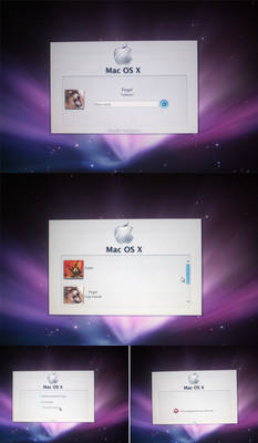 Mac OS X logon for Windows 7