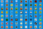 Upojenie style 100 icons Png and Ico format