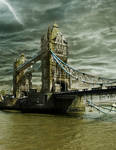 Ruins of Tower Bridge + .PSD