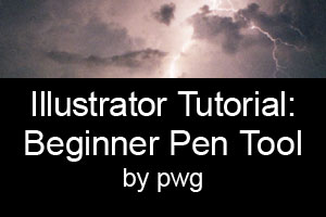 Illustrator Tutorial: Pen Tool by pwg