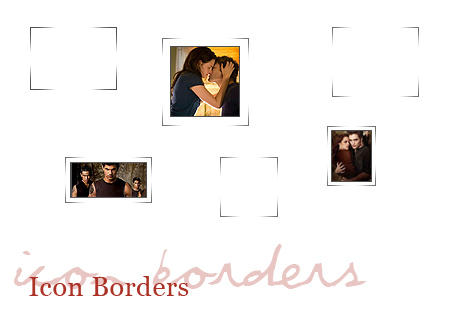 Icon Borders by vincitrice