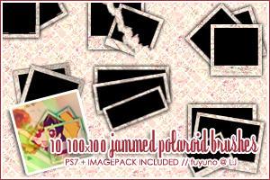 100x100 Jammed Polaroid PS7 by kumiko-asuka