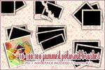 100x100 Jammed Polaroid PS7
