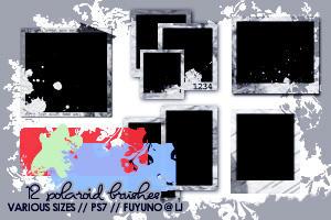 12 Polaroid Brushes PS7 by kumiko-asuka