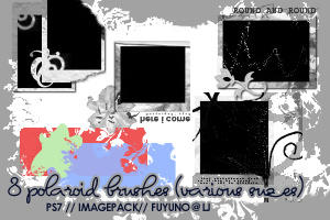 8 Polaroid Brushes PS7 by kumiko-asuka