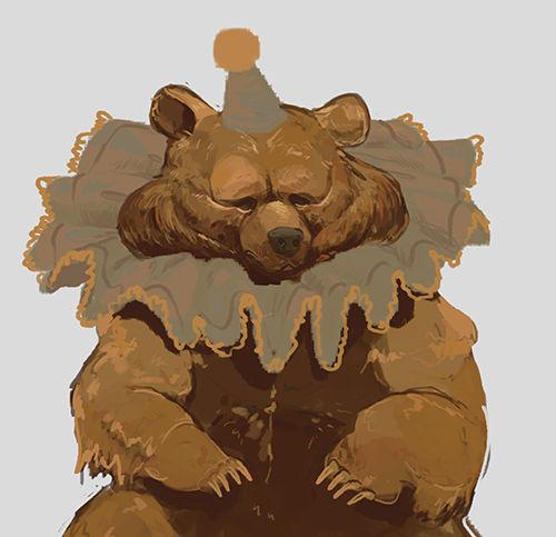 Sad Bear Animated