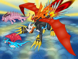 Dragon Skies by LordOfDragons