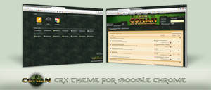 Age of Conan theme for Chrome by becomm