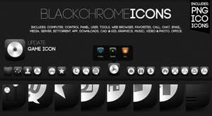 Black Chrome Icons