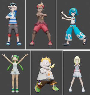 Z Move Poses Pack 1 for MMD