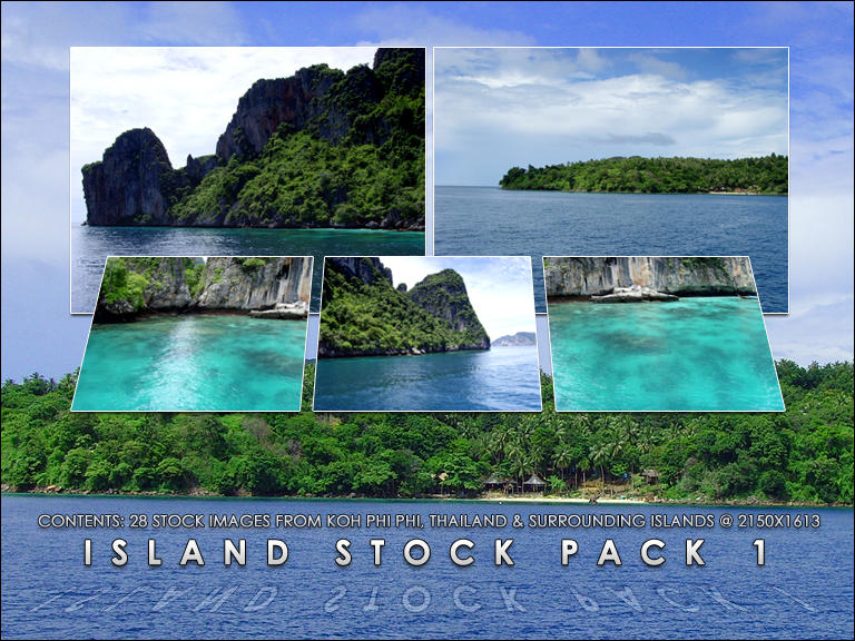 Island Stock Resource Pack 1 by FSDown