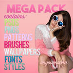MEGA PACK by imyournoona