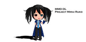 [MMD DL] Project Mirai DX Yokune Ruko