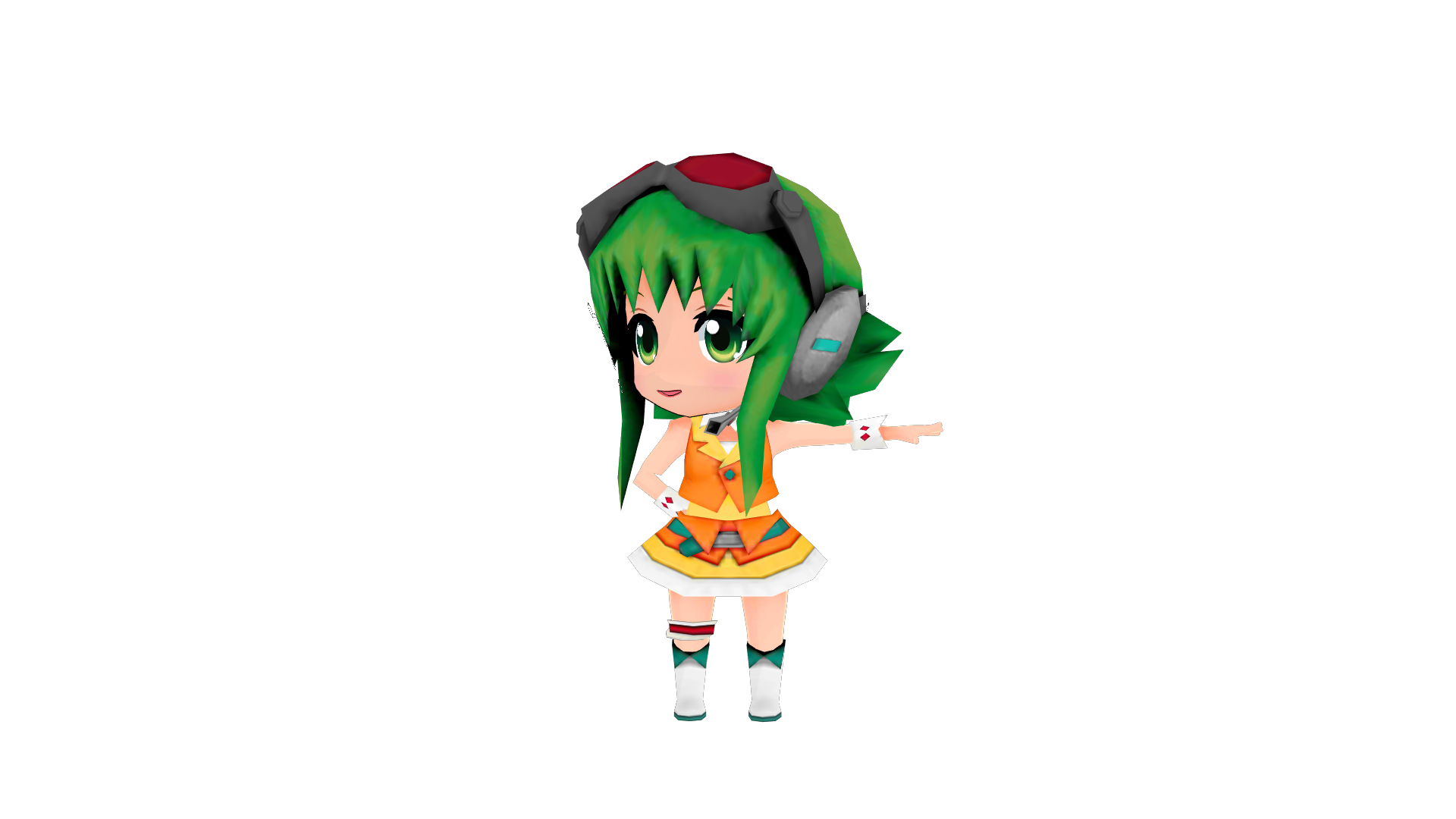 [MMD DL] Project Mirai DX Gumi Default By FreezyChanMMD On