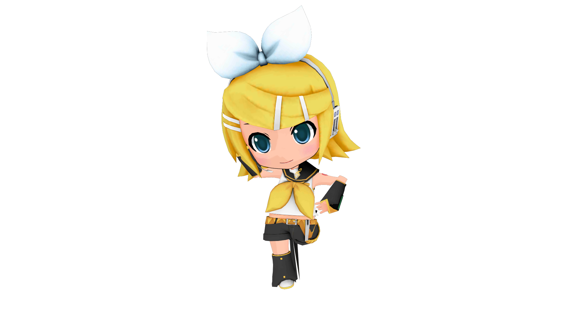 [MMD DL] Project Mirai DX Rin Default By