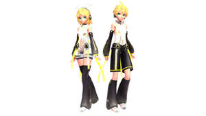 [MMD DL] TDA Kagamine Appends Edit