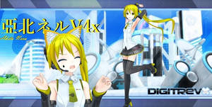 Akita Neru V4X Model Digitrevx Edit