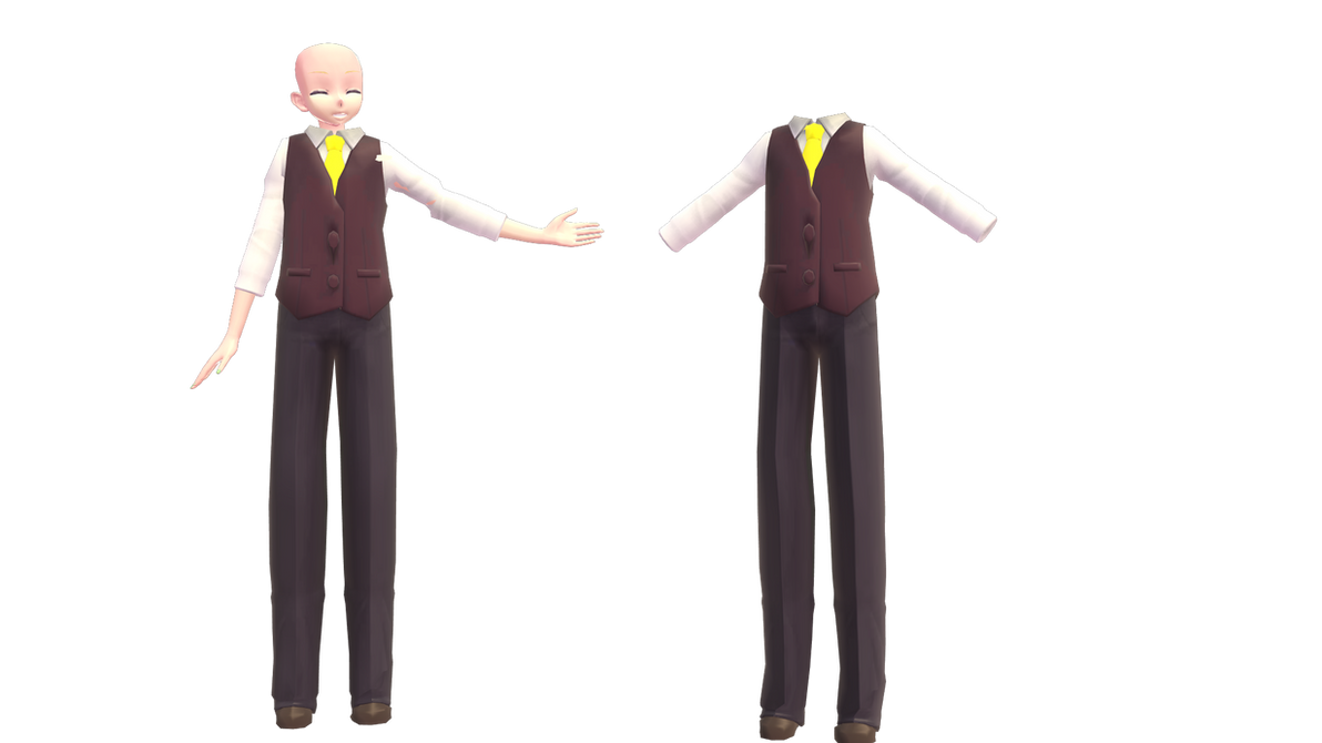 [MMD DL] Adolescence Outfit (Male Ver) By FreezyChanMMD On