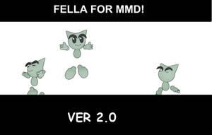 Fella V2.0 for MMD - DOWNLOAD! by FreezyChanMMD
