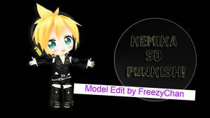 MMD - Kemika SD Punkish Len +DL