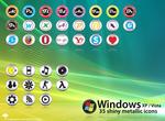 Windows Metallic Icons