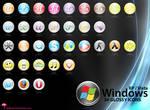 Windows Glossy Icons