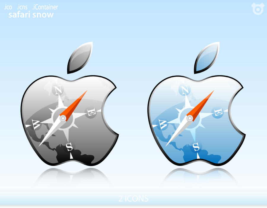 Apple Safari icons by MDGraphs