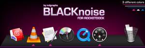 BLACKnoise for Rocketdock