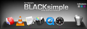 BLACKsimple for Rocketdock