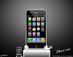 iPhone icon by MDGraphs