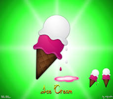 Ice-Cream icons by MDGraphs