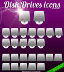 Disk Drives icons