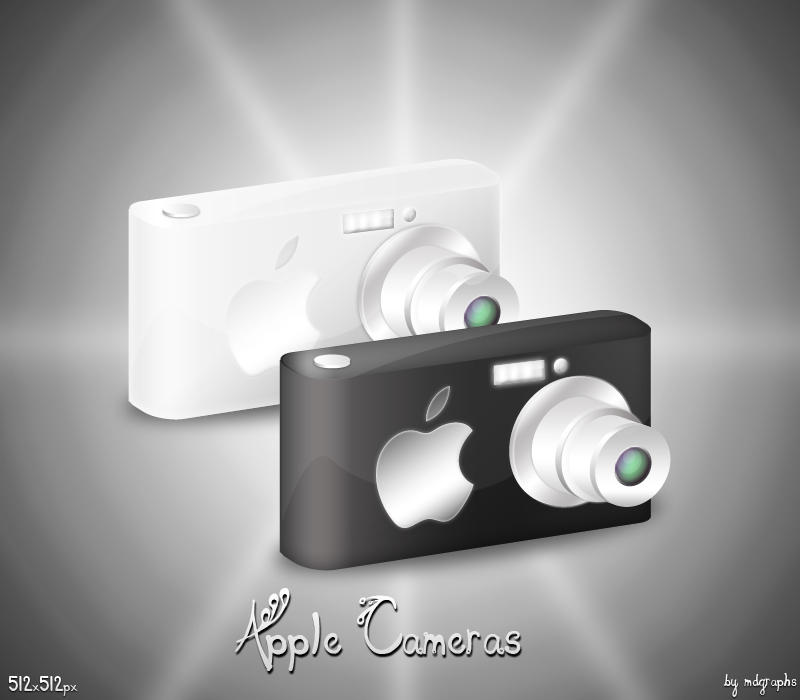 Apple Camera icons by MDGraphs