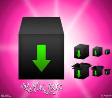 Black Box icons by MDGraphs