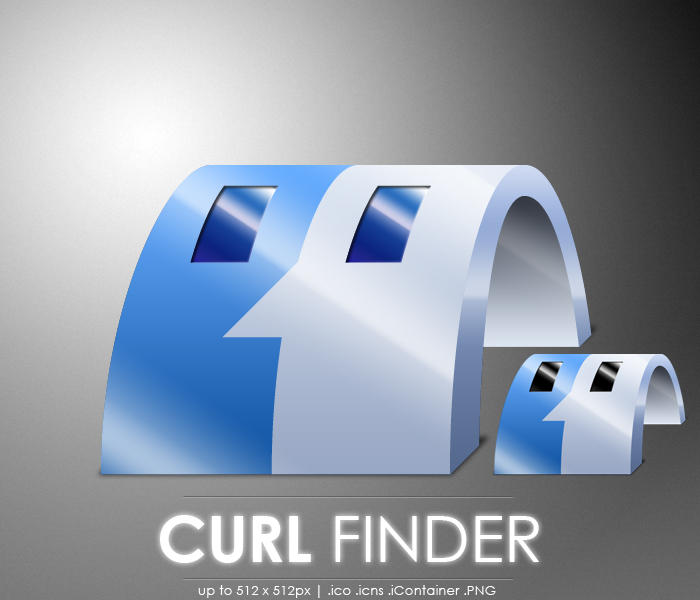 Curl Finder icon by MDGraphs