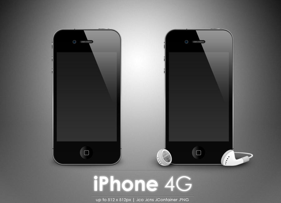 iPhone 4G icon by MDGraphs