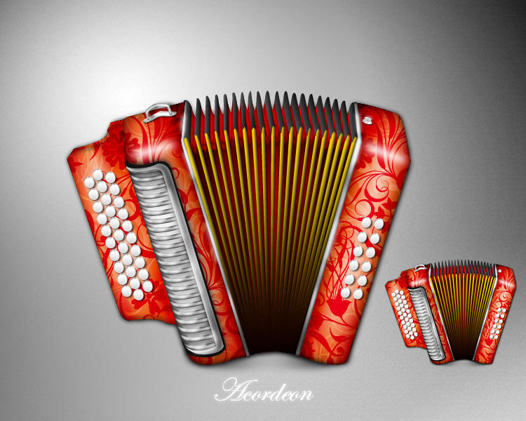 Acordeon icon by MDGraphs