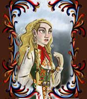 Huldrefolk Maker - female by Niobesnuppa
